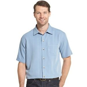 Van Heusen button down short sleeve